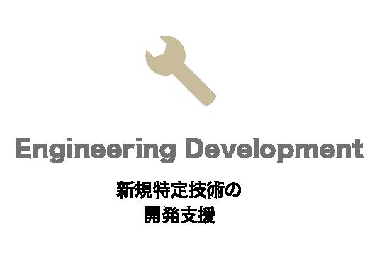 新規特定技術の開発支援